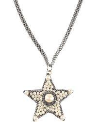 Rada' Necklace - Metallic