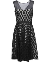 X's Milano Vestido midi - Negro