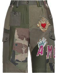 Dolce & Gabbana Shorts & Bermuda Shorts - Green