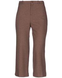 Balenciaga 3/4-length Trousers - Brown