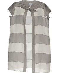 Armani Overcoat - Gray