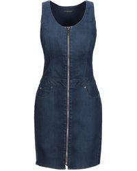 Lee Jeans Short Dress - Blue