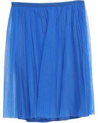Maison Margiela Knee Length Skirt - Blue