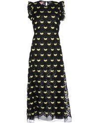 Giamba   Sleeveless Ruffled Dress   Lyst