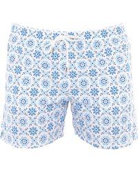 Eleventy Short de bain - Bleu