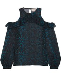 Preen By Thornton Bregazzi Blouse - Black