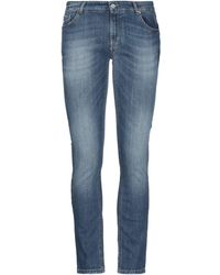 Yan Simmon Denim Trousers - Blue