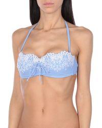 Ermanno Scervino Bikini Top - Blue