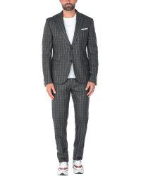 Grey Daniele Alessandrini Suit - Grey