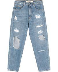 Ottod'Ame Denim Trousers - Blue