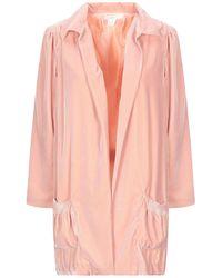 INTROPIA Overcoat - Pink