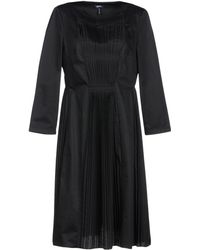 Jil Sander Navy Knee-length Dress - Black