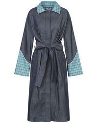 Ultrachic Overcoat - Blue