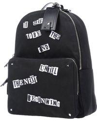 Valentino Backpacks & Fanny Packs - Black