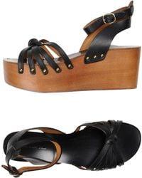 Étoile Isabel Marant - Caged Leather Sandals - Lyst
