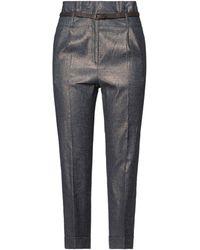 Peserico Denim Pants - Gray