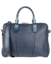 Santoni Work Bags - Blue