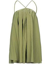 ACTUALEE Short Dress - Green