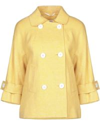 Kiton Suit Jacket - Yellow