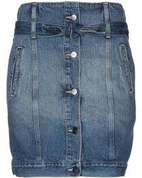 Armani Exchange Jupe en jean - Bleu