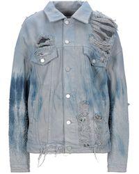 ATM ALCHEMIST Denim Outerwear - Blue