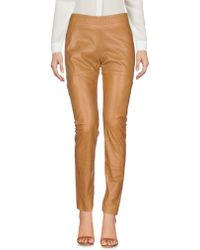 Callens Casual Trousers - Natural