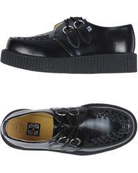 T.U.K. Lace-up Shoe - Black