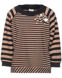 LE COEUR TWINSET Sweatshirt - Brown
