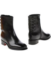 Santoni Ankle Boots - Black