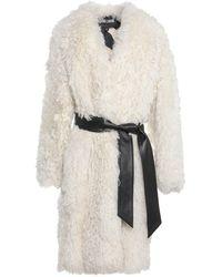 Just Cavalli Coat - White
