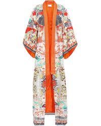Camilla Overcoat - Orange