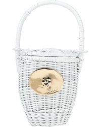 Patou Handbag - White