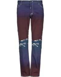 CASABLANCA Pantaloni jeans - Viola