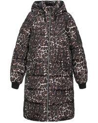Vero Moda Synthetic Down Jacket - Brown