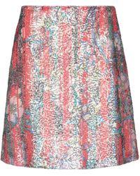 Golden Goose Deluxe Brand Mini Skirt - Red