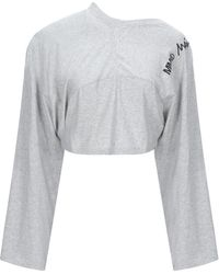 MM6 by Maison Martin Margiela - T-shirt - Lyst
