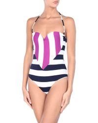 Albertine One-piece Swimsuit - Blue