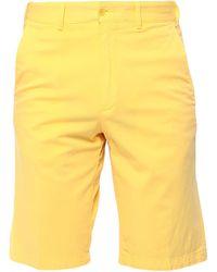 Paul & Shark Shorts & Bermuda Shorts - Yellow