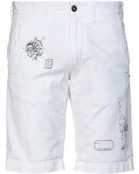 Mason's Bermuda - Blanc