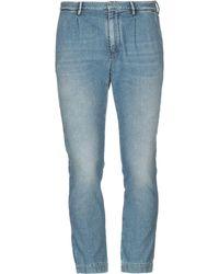 Paolo Pecora - Pantalon en jean - Lyst