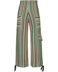 VIKI-AND Casual Trouser - Green