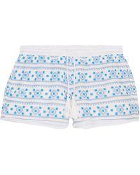 Melissa Odabash Shorts - Blue