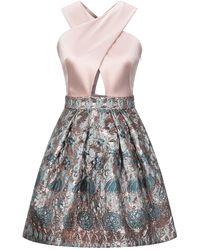 Temperley London Short Dress - Pink