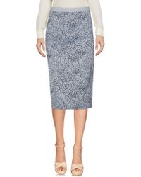 Teresa Dainelli - 3/4 Length Skirt - Lyst