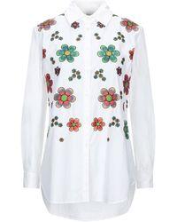 Attic And Barn Camicia - Bianco