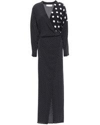 Michelle Mason Vestido largo - Negro