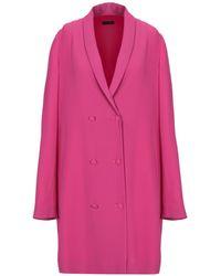 Ralph Lauren Black Label Overcoat - Pink