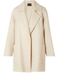 Akris Overcoat - Natural