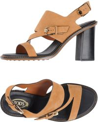 Tod's - Sandales - Lyst