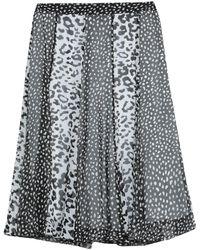 Blugirl Blumarine Knee Length Skirt - Black